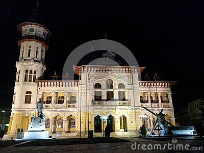 City hall of Buzau