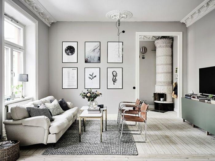 1001 Ideas Sobre Decoracion De Habitaci 243 N Gris Salones