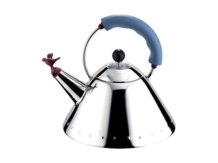 ALESSI Kettle with bird-shaped whistle