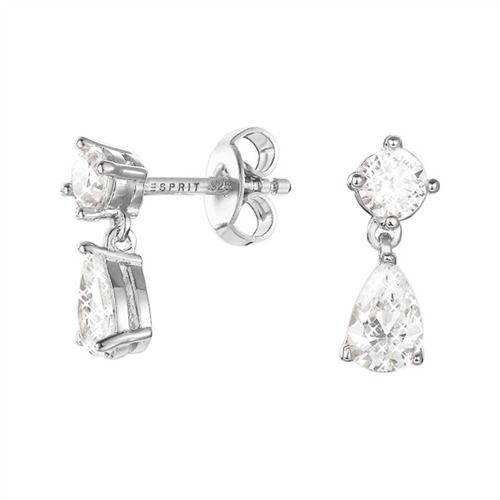 Esprit Silber Ohrringe Drop Solitaire #earrings #silver #jewelry #esprit