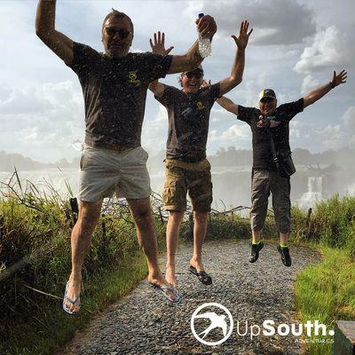 Getting soaked at #victoriafalls #adventuretravel #wanderlust