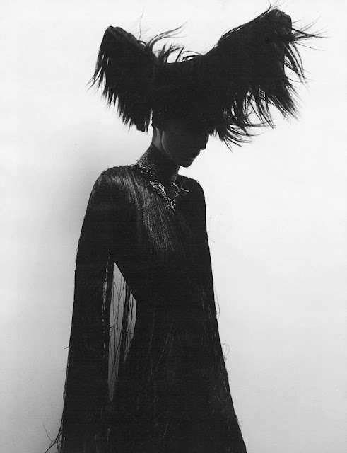 Glamorous Gothic Couture  These Ludivine Poiblanc Looks are Elegantly Dark