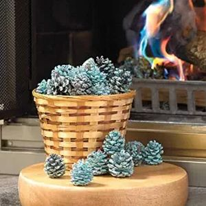Add some festive hues to the fire with these rainbow pine cones! 36% Off - $25.50 with FREE shipping! #HalfOffDeals #RainbowPineCones #FireColorant #CampfireColorant #TheFireIsSoDelightful