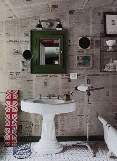 #interieur #interieurontwerp #kranten #behang #newspaper #wall #wallpaper