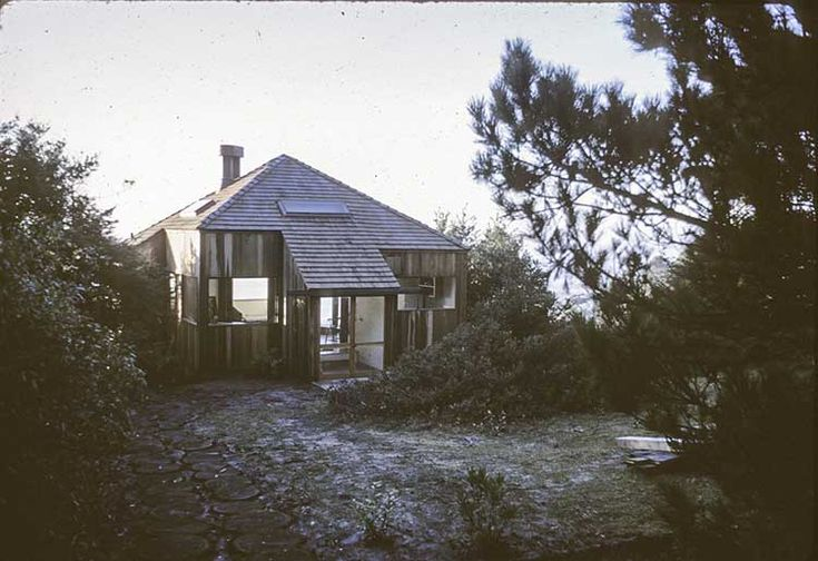Charles Moore [MLTW/ Moore-Turnbull] | Casa Reverdy Johnson | Sea Ranch, Condado de Sonoma, California | 1965