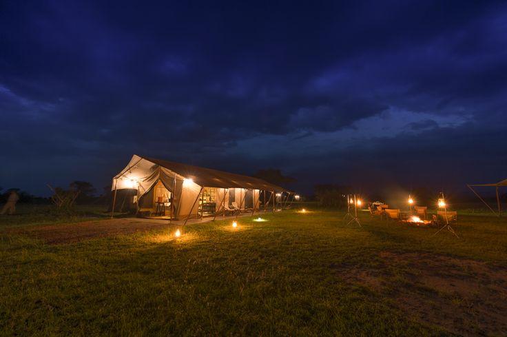 Nights spent around the campfire at Singita Explore are simply magical.