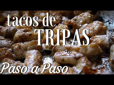 COMO HACER TRIPAS DE RES/TACOS DE TRIPA DE RES PARA NEGOCIO - YouTube