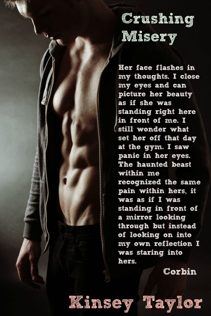 Corbin Nash Teaser Crushing Misery by Author Kinsey Taylor