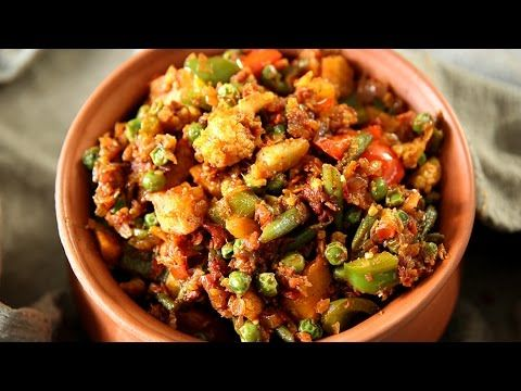 Paneer Bhurji Gravy | Easy To Make Vegetarian Homemade Curry Recipe | Ruchi's Kitchen - YouTube