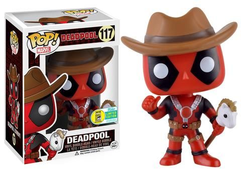 SDCC 2016 Wave 6 Pop! Marvel: Deadpool - Cowboy Deadpool