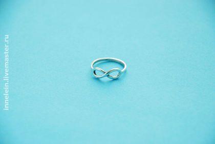 """Кольца ручной работы. Ярмарка Мастеров - ручная работа. Купить Серебряное кольцо """"Бесконечность"""" (Infinity). Handmade. Бесконечность, обручальные кольца"""