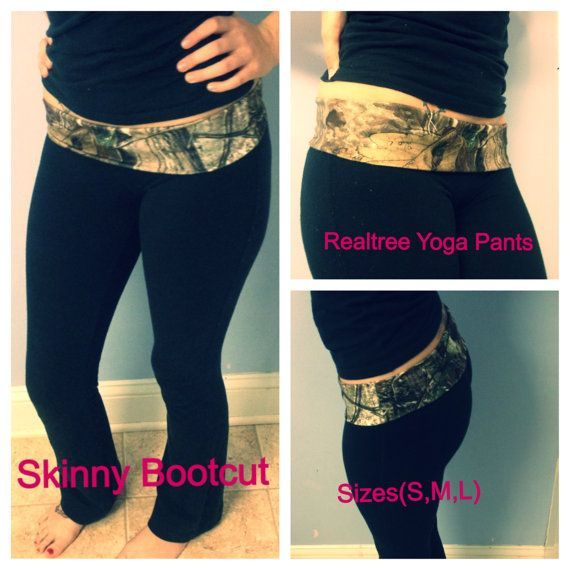Realtree Camo Skinny Bootcut Yoga Pants LIMITED QUANTITES more availa…