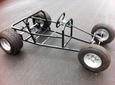 Totrod Tot Rod Chassis Gokart Go Kart Buggy Petrol Car |