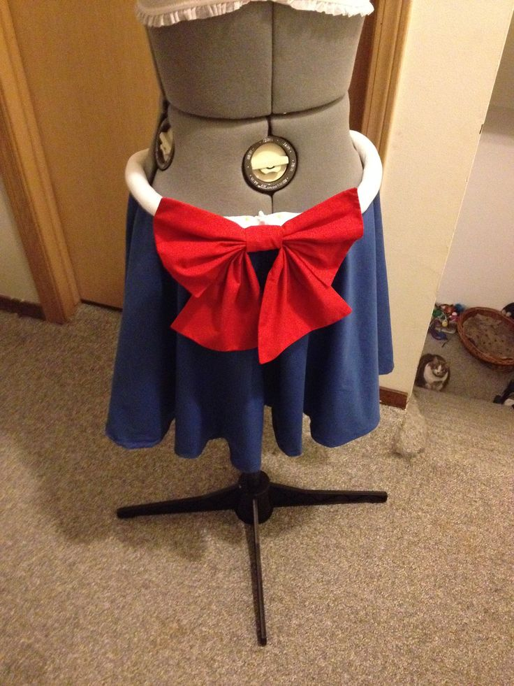 Transformation Complete! Here's the skirt that... | Emz Geekery