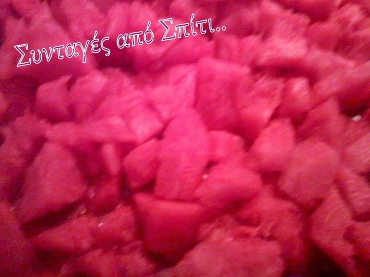 Γλυκές Δημιουργίες - απολαύσεις: Γρανίτα Καρπούζι..