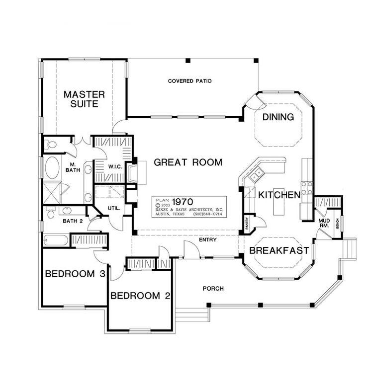 203 best Cool House Plans images on Pinterest | House floor plans ...
