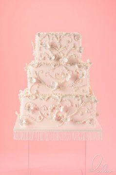 Pink Beautiful cake by Lulu NYC