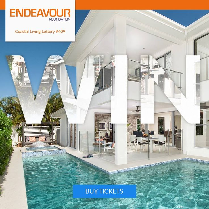 WIN your million dollar dream home at the Sunshine Coast. Buy tickets NOW! https://aspirecharitygaming.com/endeavour-410/ #charity #endeavour #raffle #lottery