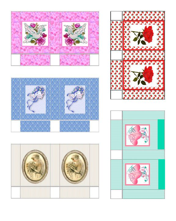 Dollhouse Printable Boxes: 1000+ Images About Miniature Printables