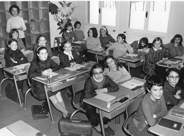 Photo de classe CLASSE DE MME ALEXANDRE de 1970, ECOLE VOLTAIRE - Copains d'avant