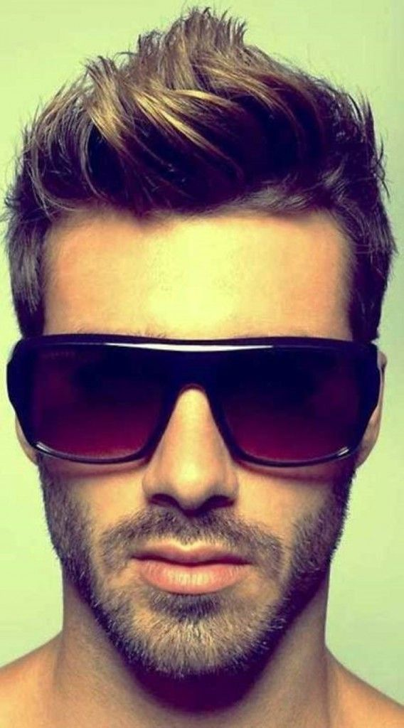 Cool Brushed Up Hairstyle 2014 - Mens Haircuts 2014
