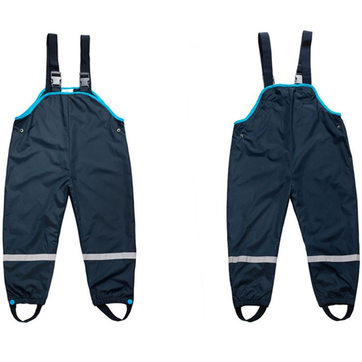 Topo lino Children Waterproof Overalls New 2016 Boys Girls Trousers 2-7Yrs Children's ski pants Boys Girl overalls childrens 520