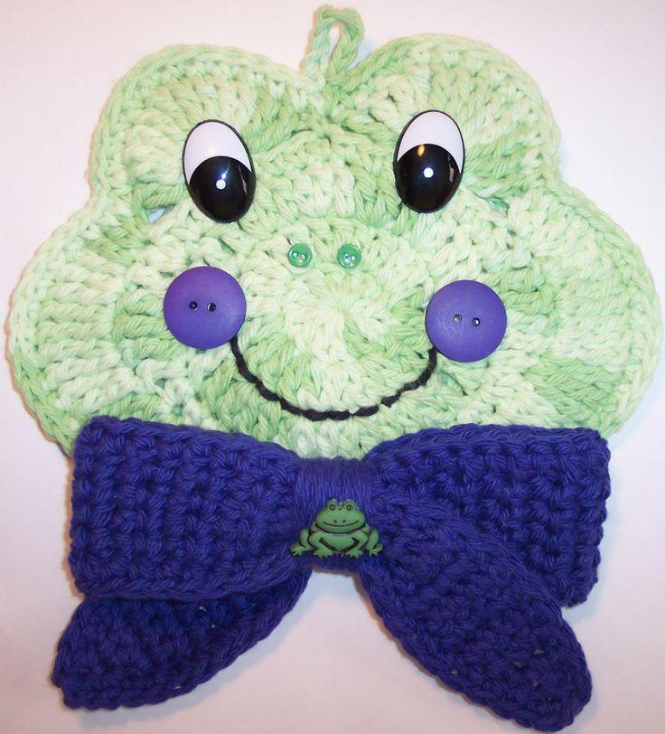 Crochet Frog By Linda Weddle