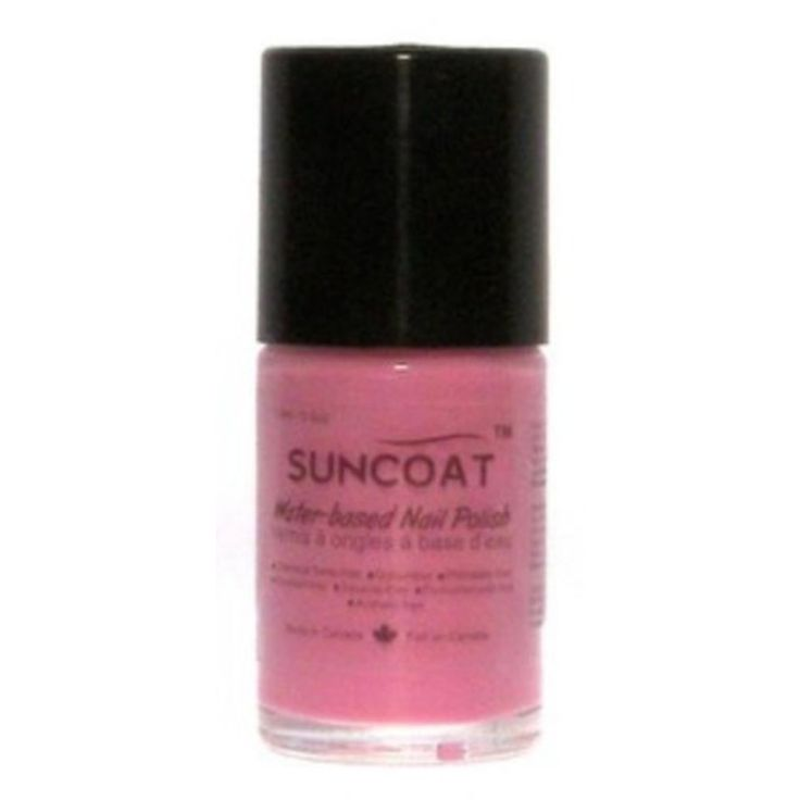 Suncoat Nail Polish Discontinued - Pink Passion