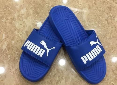Puma Popcat Slider Sandals Blue White