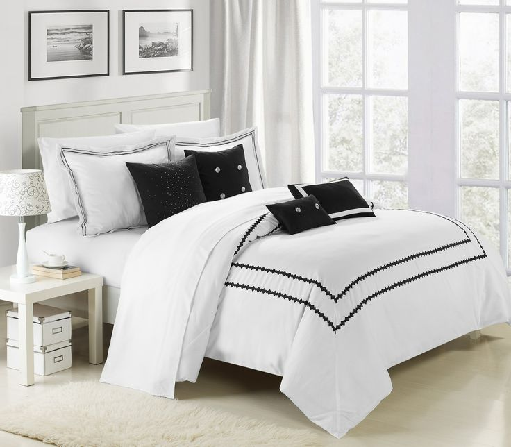 Perfect 100% Cotton, 200 Thread Count Luxurious 7 Pcs Comforter Set. The Essence Of