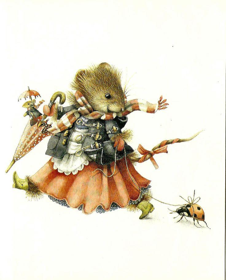 Картинки мышата для декупажа