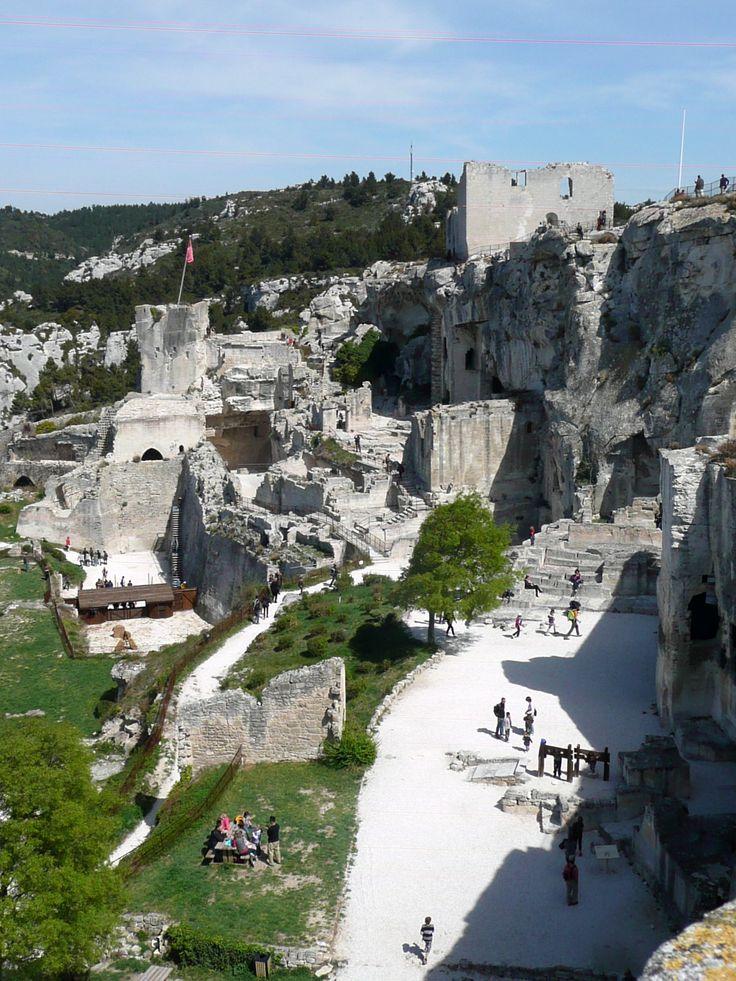 Le Baux de Provence - www.chateau-baux-provence.com