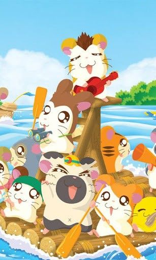 Hamtaro. Gosh they were freaking cute!