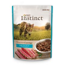 Nature's Variety Instinct Healthy Cravings Tuna Recipe Pouch 3oz Canned Cat Food