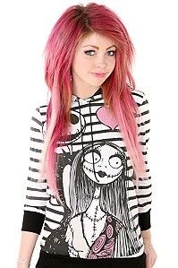 The Nightmare Before Christmas Love Striped