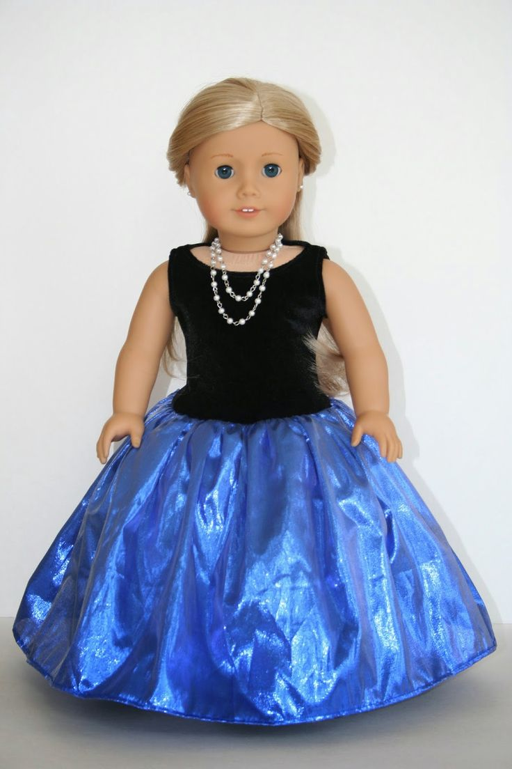 Fancy Dress for American Girl Doll tutorial (using Liberty Jane tank top pattern)