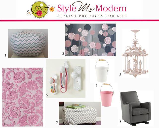 Nursery Inspiration ~ Pink