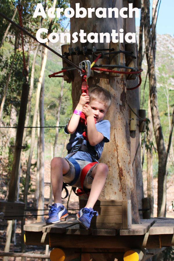 Acrobranch is a fun, outdoor obstacle and activity course for kids, teenagers and adults that takes you through the Constantia Nek forest on swinging bridges, ziplines, Tarzan swings and treetop adventures.