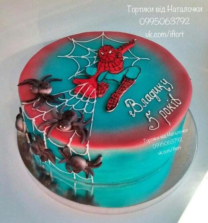 Торт Человек паук, Spider Man