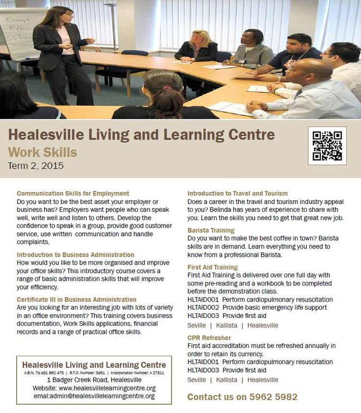 Business Training at Healesville Living and Learning Centre - Term 2, 2105 http://www.healesvillelearningcentre.org