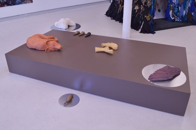 Chelsea College of Art Degree show installation 2014
