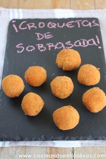 Cocinando entre Olivos: Croquetas de sobrasada y queso. Receta paso a paso