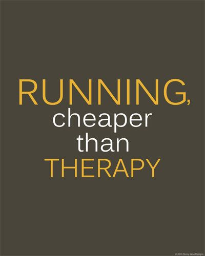 Running Therapy!