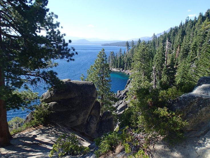 The Rubicon Trail is a through hike connecting D.L. Bliss State Park and Emerald Bay State Park. You can start at either point. I opted to start at D.L.