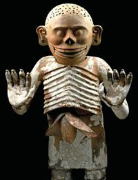 Mictlantecuhtli, the Aztec god of death