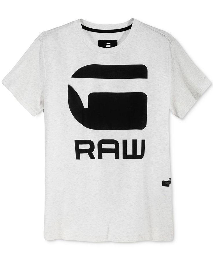 Soft heathered cotton and an eye-catching graphic logo make this Anvan T-shirt from GStar Raw a stylish addition to your casual essentials. | Cotton | Machine washable | Imported | Crew neck | Graphic