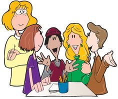 group of students working together clipart - Google Search ...