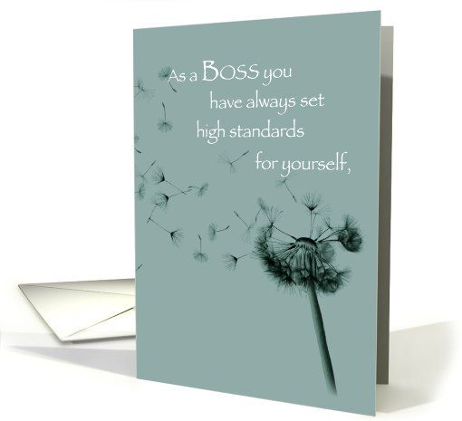 23 best bosss day images on pinterest boss day card holiday dandelion high standards bosss day greeting cards by sandra rose designs m4hsunfo