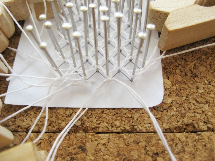 Basics of Bobbin Lace - How Did You Make This?   Luxe DIY