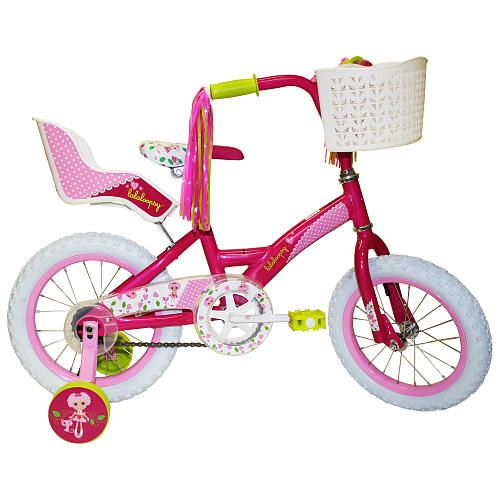 "For Naomi. Girls' 14 Inch LaLaLoopsy Bike - Street Flyers - Toys ""R"" Us"